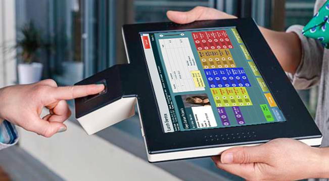 Biometric Handheld Tablet